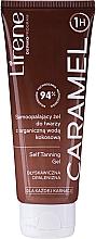 Fragrances, Perfumes, Cosmetics Self-Tanning Gel with Organic Coconut Water - Lirene Self Tanning Gel Caramel