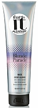 Fragrances, Perfumes, Cosmetics Mask for All Shades of Blonde - AlfaParf That's It Blonde Parade Mask