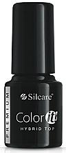Fragrances, Perfumes, Cosmetics Nail Top Coat - Silcare Color IT Premium Hybrid Top Coat Gel