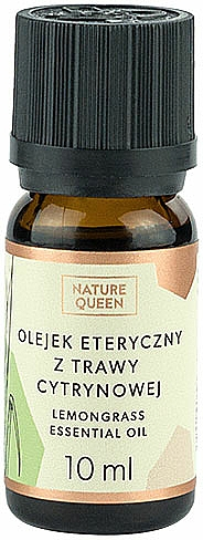 "Essential Oil ""Lemongrass"" - Nature Queen Essential Oil Lemongrass"