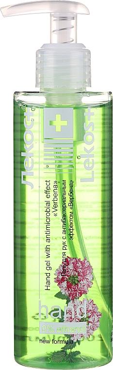 Antibacterial Hand Gel 'Verbena' - Markell Cosmetics Lekos+