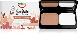 Fragrances, Perfumes, Cosmetics Compact Powder - Equilibra Love's Nature Compact Foundation