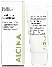 Fragrances, Perfumes, Cosmetics Day & Night Fluid for Oily Skin - Alcina FM Day and Night Facial Fluid