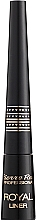 Fragrances, Perfumes, Cosmetics Liquid Eyeliner - Pierre Rene Royal Liner