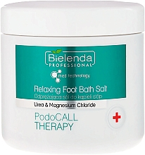 Fragrances, Perfumes, Cosmetics Foot Bath Salt - Bielenda PodoCall Therapy Relaxing Foot Bath Salt