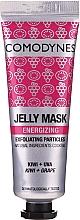 Fragrances, Perfumes, Cosmetics Energizing Face Gel-Mask - Comodynes Jelly Mask Energizing Exfoliating Action