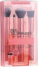 Fragrances, Perfumes, Cosmetics Makeup Brush Set - Real Techniques Flawless Base Set