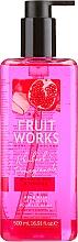 "Fragrances, Perfumes, Cosmetics Hand Soap ""Rhubarb & Pomegranate"" - Grace Cole Fruit Works Hand Wash Rhubarb & Pomegranate"