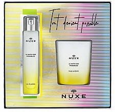 Fragrances, Perfumes, Cosmetics Nuxe Le Matin Des Possibles - Set (edp/50ml + candle/140g)