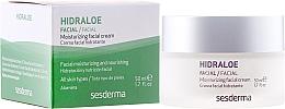 Fragrances, Perfumes, Cosmetics Moisturizing Face Cream - SesDerma Laboratories Hidraloe Moisturizing Face Cream