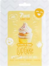 "Fragrances, Perfumes, Cosmetics Banana & Vanilla Face Mask ""Cupcake"" - 7 Days Candy Shop"