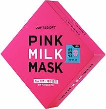 Fragrances, Perfumes, Cosmetics Face Mask - Duft & Doft Pink Milk Mask Tone Up+ Radiance