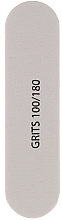 Fragrances, Perfumes, Cosmetics Double-Sided Nail File 100/180, 9562, white - Donegal