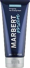 Fragrances, Perfumes, Cosmetics Men Hair and Body Wash - Marbert Man Skin Power Hair & Body Wash
