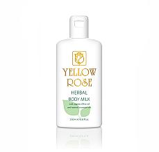 Fragrances, Perfumes, Cosmetics Body Milk - Yellow Rose Herbal Body Milk