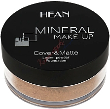 Fragrances, Perfumes, Cosmetics Mineral Face Powder - Hean Mineral Make Up Cover&Matte Loose Mineral Powder