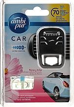 Fragrances, Perfumes, Cosmetics Car Aromatization Set - Ambi Pur Car Air Freshener For Her (freshener/1szt+refill/7ml)