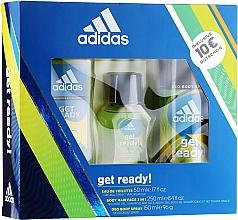 Fragrances, Perfumes, Cosmetics Adidas Get Ready for Him - Set (edt/50ml + deo/150ml + s/g/250ml)