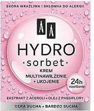 Fragrances, Perfumes, Cosmetics Nourishing Multi Moisturizing Face Cream - AA Hydro Sorbet Moisturising & Nutrition Cream