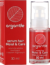 Fragrances, Perfumes, Cosmetics Hair Serum - Stapiz Argan'de Moist & Care Serum