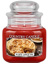 Fragrances, Perfumes, Cosmetics Scented Candle in Jar - Country Candle Warm Apple Pie