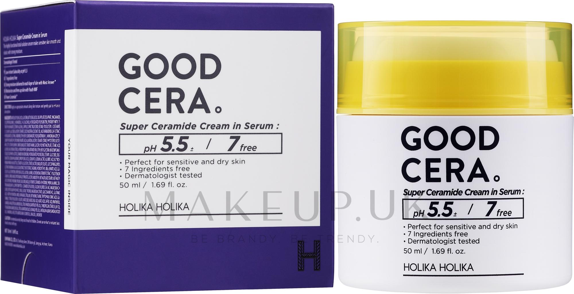 Facial Cream-Serum - Holika Holika Good Cera Super Ceramide Cream In Serum — photo 50 ml