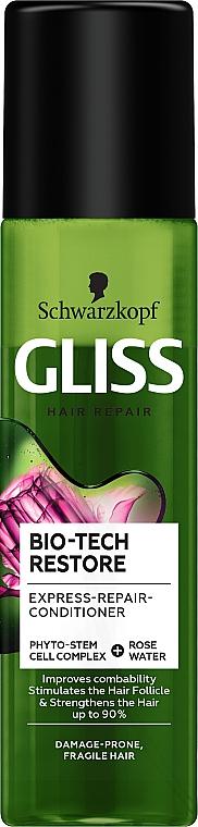 Hair Conditioner Spray - Schwarzkopf Gliss Kur Bio-Tech Restore