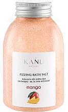 """Fragrances, Perfumes, Cosmetics Fizzy Bath Salt """"Mango"""" - Kanu Nature Mango Fizzing Bath Salt"""