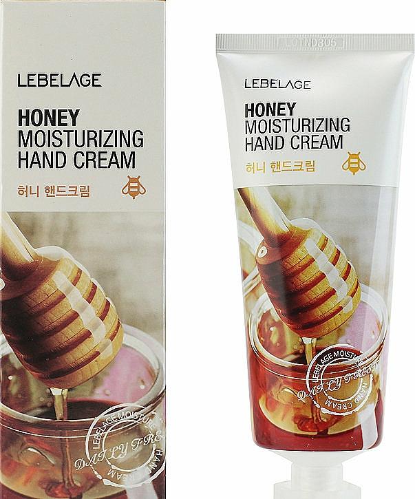 Honey Hand Cream - Lebelage Honey Moisturizing Hand Cream