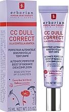 Fragrances, Perfumes, Cosmetics Correcting Face Cream - Erborian CC Dull Correct SPF 25