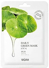 """Fragrances, Perfumes, Cosmetics Daily Use Mask """"Centella Asiatica"""" - Yadah Daily Green Mask Cica"""