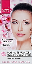 Fragrances, Perfumes, Cosmetics Facial Serum Mask with Cherry Blossom Extract - Czyste Piekno Face Mask Serum Gel