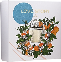 Fragrances, Perfumes, Cosmetics Chloe Love Story - Set (edp/50ml + b/lot/100ml)