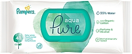Fragrances, Perfumes, Cosmetics Baby Wet Wipes, 48 pcs - Pampers Aqua Pure Wipes