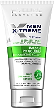 Fragrances, Perfumes, Cosmetics Soothing After Shave Balm for Sensitive Skin - Eveline Cosmetics Men X-Treme After Shave Balm