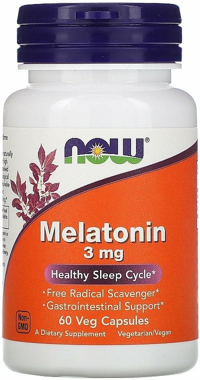 Melatonin for Healthy Sleep, 3 mg - Now Foods Melatonin