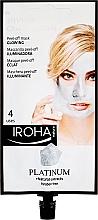 Fragrances, Perfumes, Cosmetics Face Mask - Iroha Nature Platinum Peel Off Mask Glowing 4 Uses