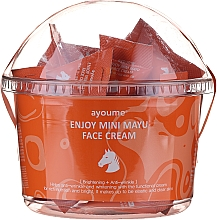 Fragrances, Perfumes, Cosmetics Repair Face Cream with Horse Oil - Ayoume Enjoy Mini Mayu Face Cream