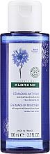 Fragrances, Perfumes, Cosmetics 2-Phase Waterproof Makeup Remover Eye Lotion - Klorane Waterproof Eye Make-up Remover with Soothing Cornflower