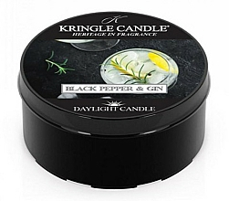 Fragrances, Perfumes, Cosmetics Tea Candle - Kringle Candle Daylight Black Pepper Gin