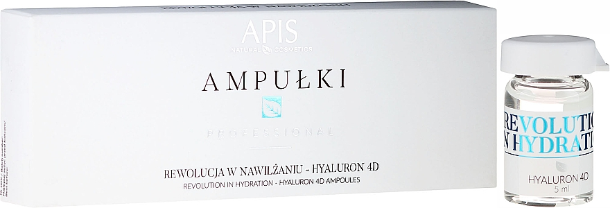 Face Concentrate - APIS Professional 4D Hyaluron Concentrate Ampule