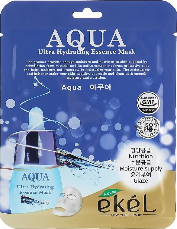 Ultra Moisturizing Sheet Mask - Ekel Aqua Ultra Hydrating Essence Mask