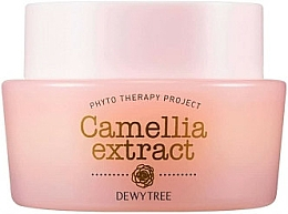 Fragrances, Perfumes, Cosmetics Shea Bitter & Macadamia Seed Oil Face Cream - Dewytree Phyto Therapy Camellia Extract Cream