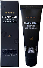 Fragrances, Perfumes, Cosmetics Snail Mucin Gel for Sensitive Skin - Ayoume Black Snail Prestige Soothing Gel
