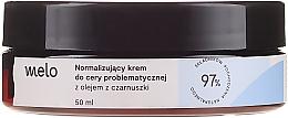 Fragrances, Perfumes, Cosmetics Normalizing Black Cumin Oil Cream - Melo