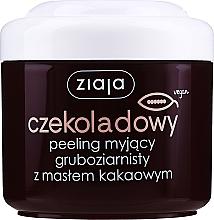 "Fragrances, Perfumes, Cosmetics Coarse-Grained Body Peeling ""Cocoa Butter"" - Ziaja Body Peeling"