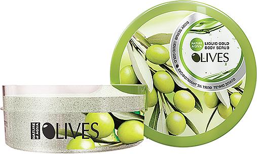 Olive Body Scrub - Nature of Agiva Olives Body Scrub — photo N1
