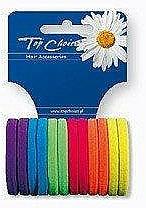Fragrances, Perfumes, Cosmetics Elastic Hair Bands, 22487, 12 pcs - Top Choice