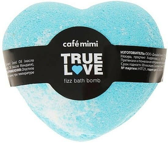 """Bath Bomb """"True Love"""", blue - Cafe Mimi Fizz Bath Bomb — photo N1"""