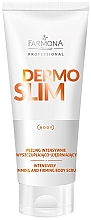 Fragrances, Perfumes, Cosmetics Intensive Body Scrub - Farmona Professional Dermo Slim Intensively Body Scrub